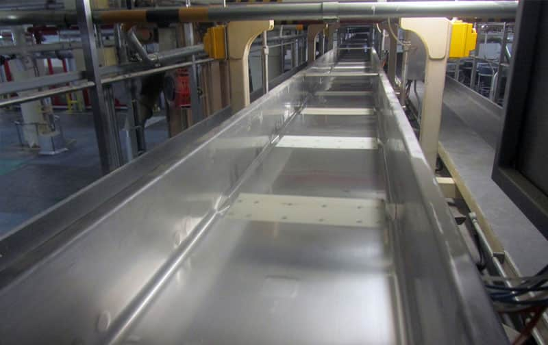 Slipstick Sanitary Conveyor Options - Triple/S Dynamics